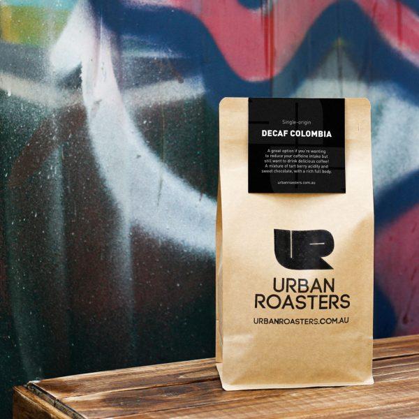 Decaffeinated coffee by Urban Roasters