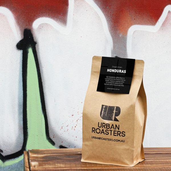 Honduras coffee bag by Urban Roasters